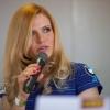 Gabriela Soukalová na tiskové konferenci