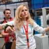 Gabriela Soukalová ukazuje jak je jednoduchý systém Trigger Shark