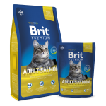 Brit Premium Cat Adult Salmon
