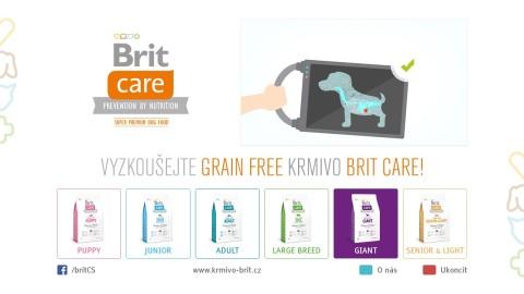 HbbTV - Brit Care microsite