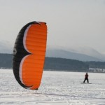 Kitesport - Kurz snowkitingu